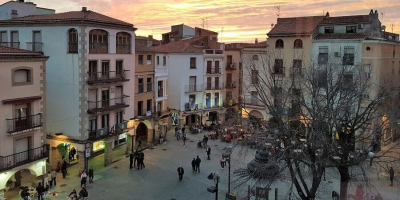 plaza mayor plasencia